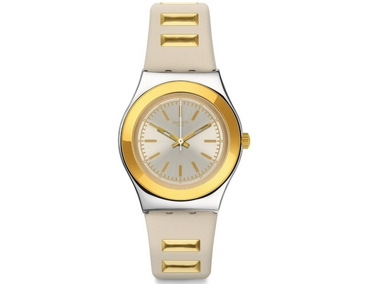 Swatch_2017 Golden Steps 33mm Q YLS195
