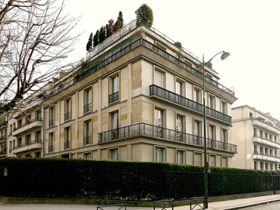 1930_Lange House Passy Paris France Auguste Perret