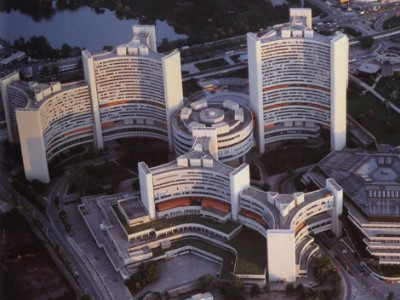 1979 Vienna International Centre Johann Staber Vienna Austria