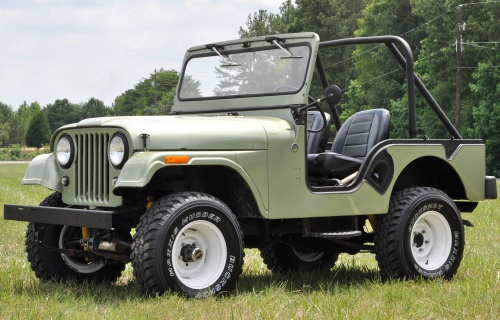 1954 Willys (Jeep) CJ-5
