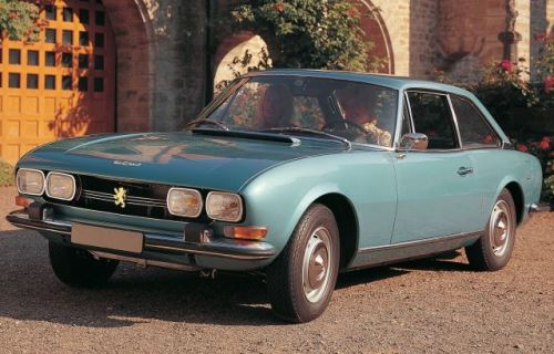 1969 Peugeot 504 Coupe