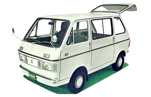 1969 Suzuki Carry L40 Van