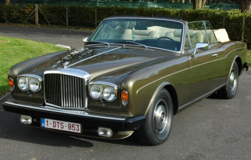 1971 Bentley Corniche Convertible