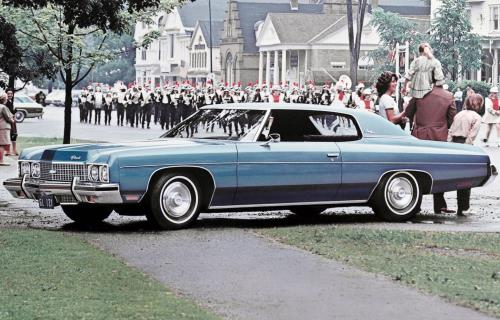1971 Chevrolet Impala Coupe
