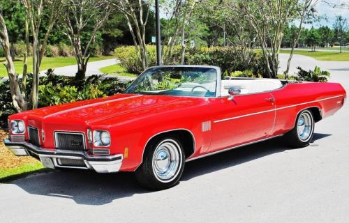 1972 Oldsmobile 88 Convertible