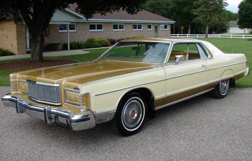 1975 Mercury Grand Marquis Coupe