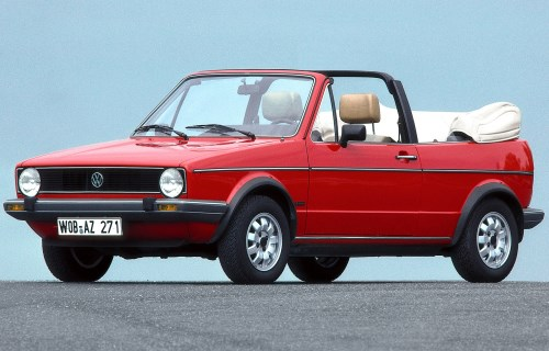 1979 Volkswagen Golf I Convertible
