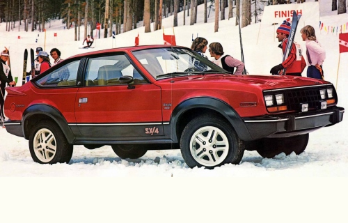 1981 AMC Eagle SX4