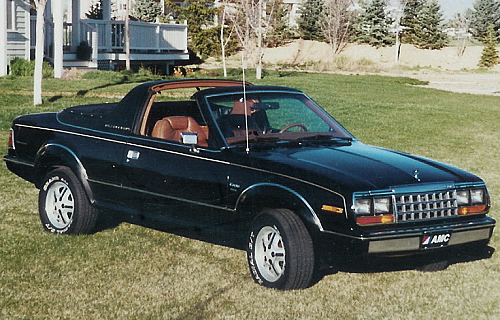 1981 AMC Eagle Sundancer