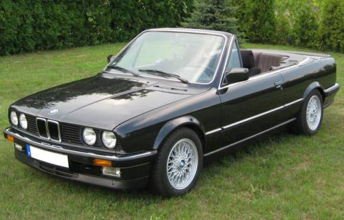 1986 BMW 3 Series Convertible
