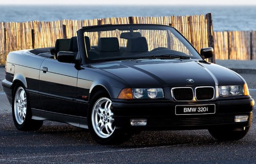 1993 BMW 3 Series Convertible