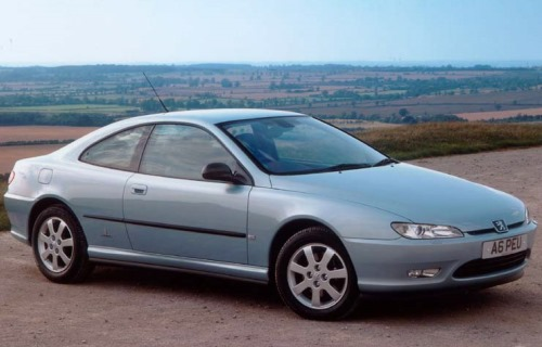 1996 Peugeot 406 Coupe