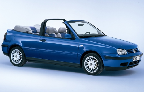 1998 Volkswagen Golf IV Convertible