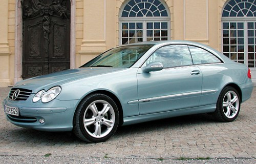 2002 Mercedes-Benz CLK Coupe