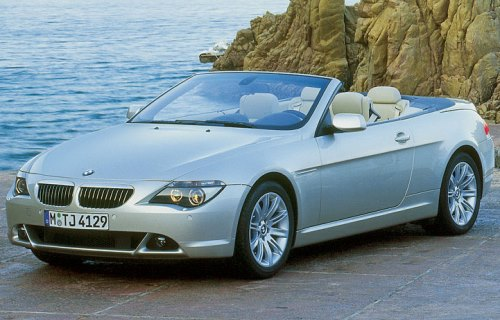 2004 BMW 6 Series Convertible