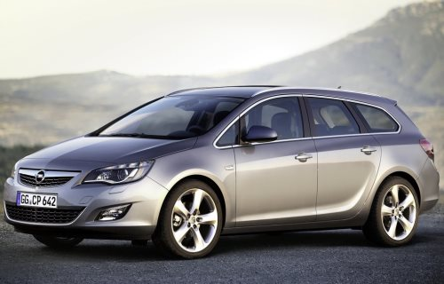 2010 Opel Astra Sports Tourer (Vauxhall)
