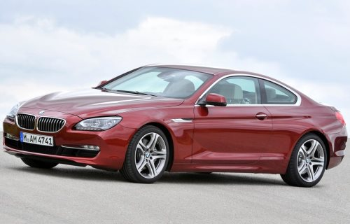 2011 BMW 6 Series Coupe