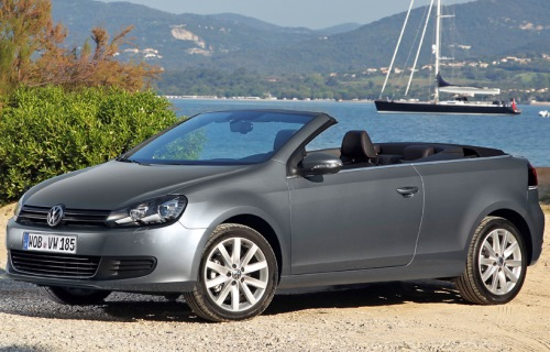 2011 Volkswagen Golf VI Convertible