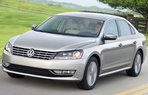 2011 Volkswagen Passat US-Version