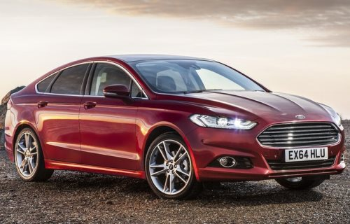 2012 Ford Fusion (Ford Mondeo)