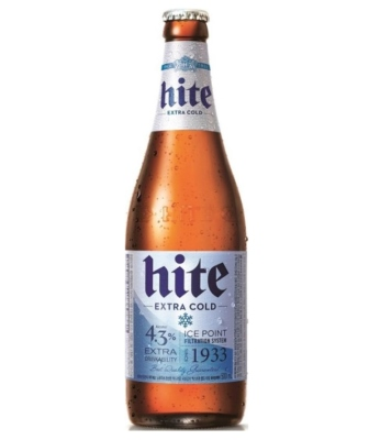 Korea P.R. of Hite Extra Cold