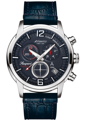 Atlantic Seasport Chronograph 46mm Q 87461.41.55