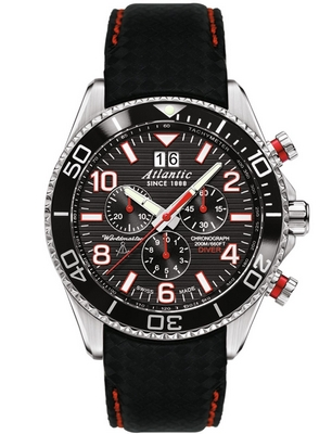 Atlantic Worldmaster Diver Chrono 44mm Q 55470.47.65RC