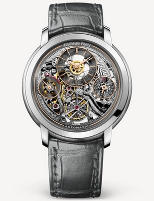Audemars Piguet Jules Audemars Tourbillon Openworked 41mm 26143PT.OO.D005CR.01