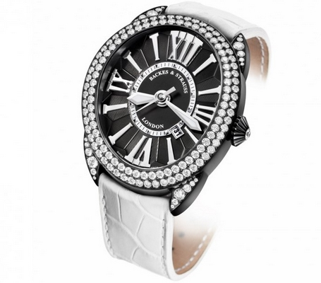 Backes and Strauss Regent Diamond Knight 44mm RE.4452.MA.PVD.D2R