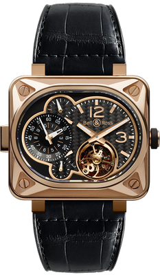 Bell and Ross BR Minuteur Tourbillon 50mm BR-MINUT TOURB-PG