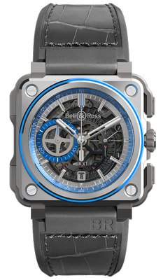 Bell and Ross BR-X1 Hyperstellar 45mm BRX1-AL-TI-BLU