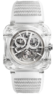 Bell and Ross BR-X1 Tourbillon Sapphire 45mm BRX1-CHTB-SAPHIR