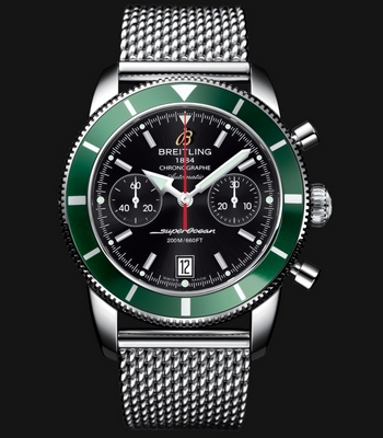 Breitling Superocean Heritage Chronographe 44mm Green