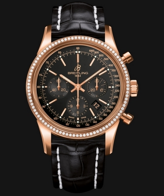 Breitling Transocean Chronograph 43mm Diamonds