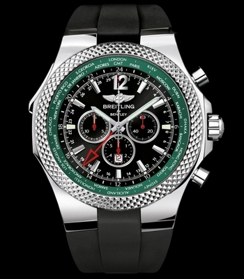 Breitling for Bentley GMT Midnight Carbon 49mm