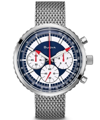 Bulova C Men Chronograph 46mm Q 96K101