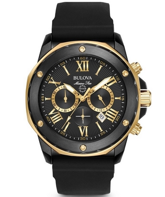 Bulova Marine Star 44mm Q 98B278