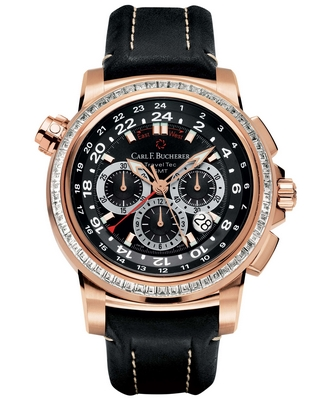Carl F. Bucherer Patravi Traveltec 46.6mm 00.10620.03.33.1