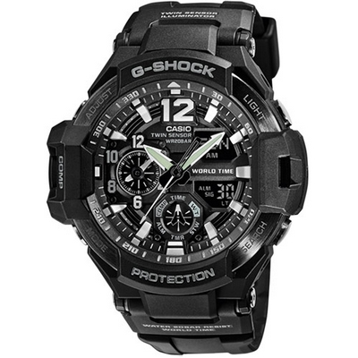 Casio G-Shock 52.1mm Q GA-1100-1AER