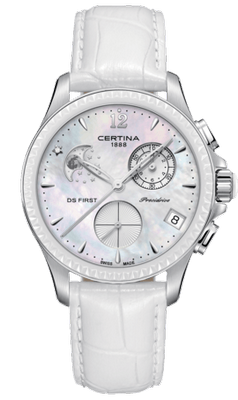 Certina DS First Lady Chronograph Mondphase 38mm Q C030.250.16.106.00