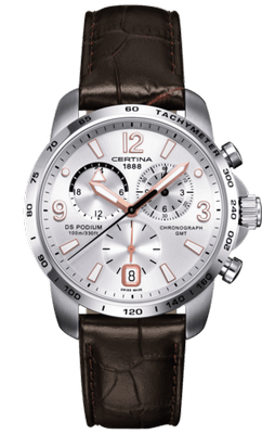 Certina DS Podium Chrongraph GMT 42mm Q C001.639.16.037.01