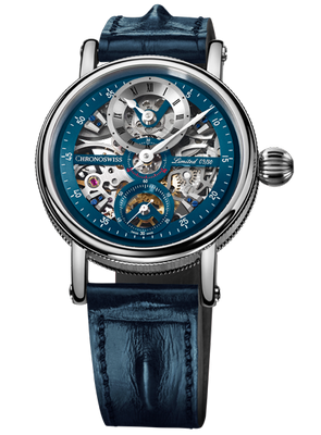 Chronoswiss Flying Grand Regulator Skeleton 44mm CH-6723S-BLSI