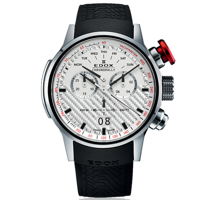Edox Chronorally 48mm Q 38001-TIN-AIN
