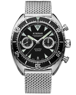 Eterna Super Kontiki 45mm 7770.41.49.1718