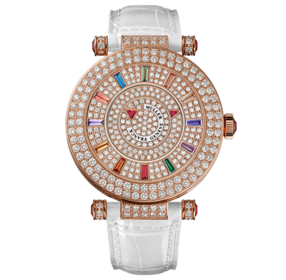 Franck Muller Round Ladies 42 DM COL DRM D 2R CD