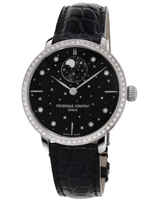 Frederique Constant Slimline Moonphase Stars 38.8mm FC-701BSD3SD6