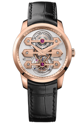 Girard-Perregaux Bridges Tourbillon Three Gold Bridges 40mm 99285-52-000-BA6A