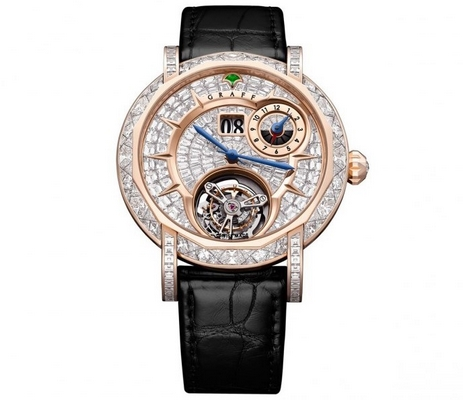 Graff Master Graff Grand Date Dual Time Tourbillon 43mm