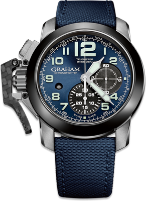 Graham Chronofighter Steel 47mm 2CCAC.U01A