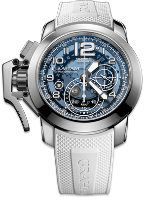 Graham Chronofighter Steel Target 47mm 2CCAS.U04A